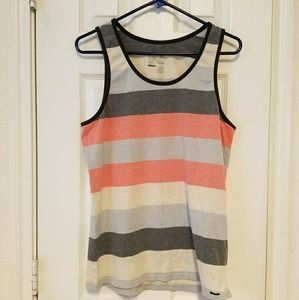On The Byas multi color men's tank top. Size M.